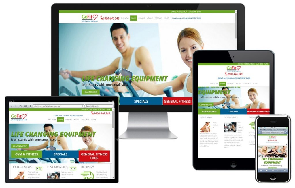 GoFit Website