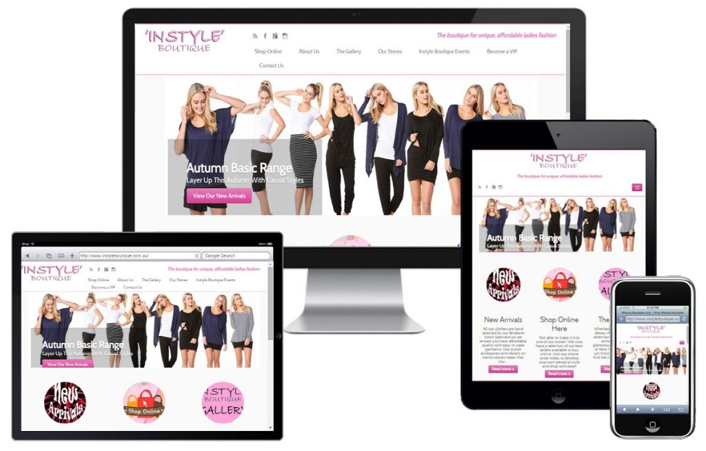 Instyle Boutique Website