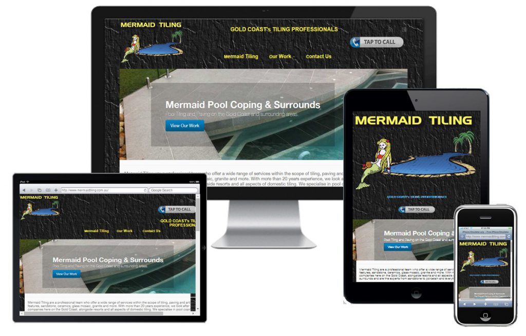 Mermaid Tiling Website