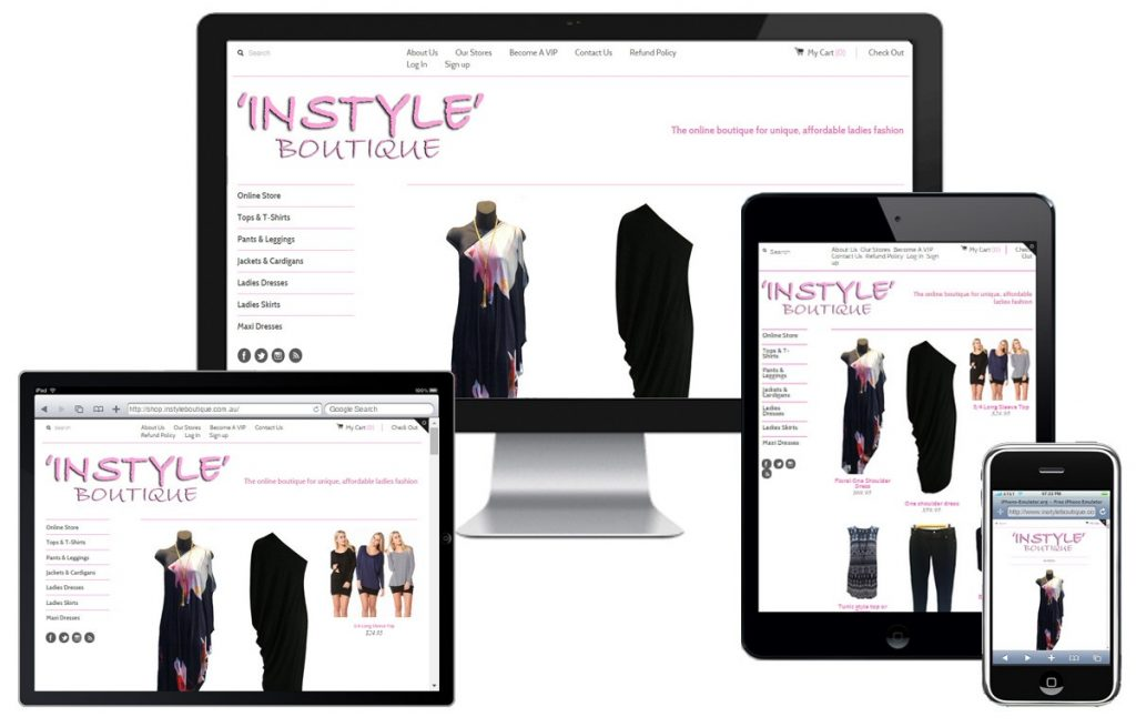 Instyle Boutique E-commerce Site