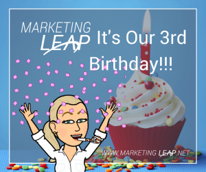 Marketing Leap Birthday Facebook