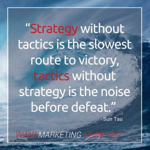 Strategy without tactics