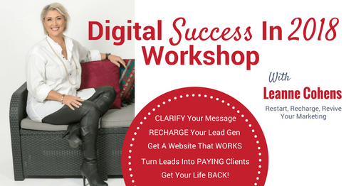 Digital Success Event Marketing Leap
